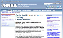 Public Health Training Centers Network